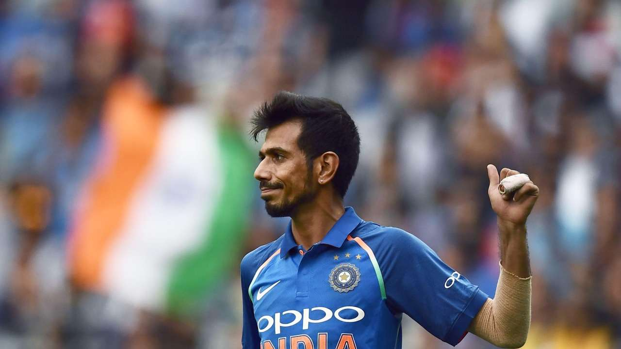 Yuzvendra Chahal took 6/42 against Australia in the final ODI in Melbourne (photo - AFP)