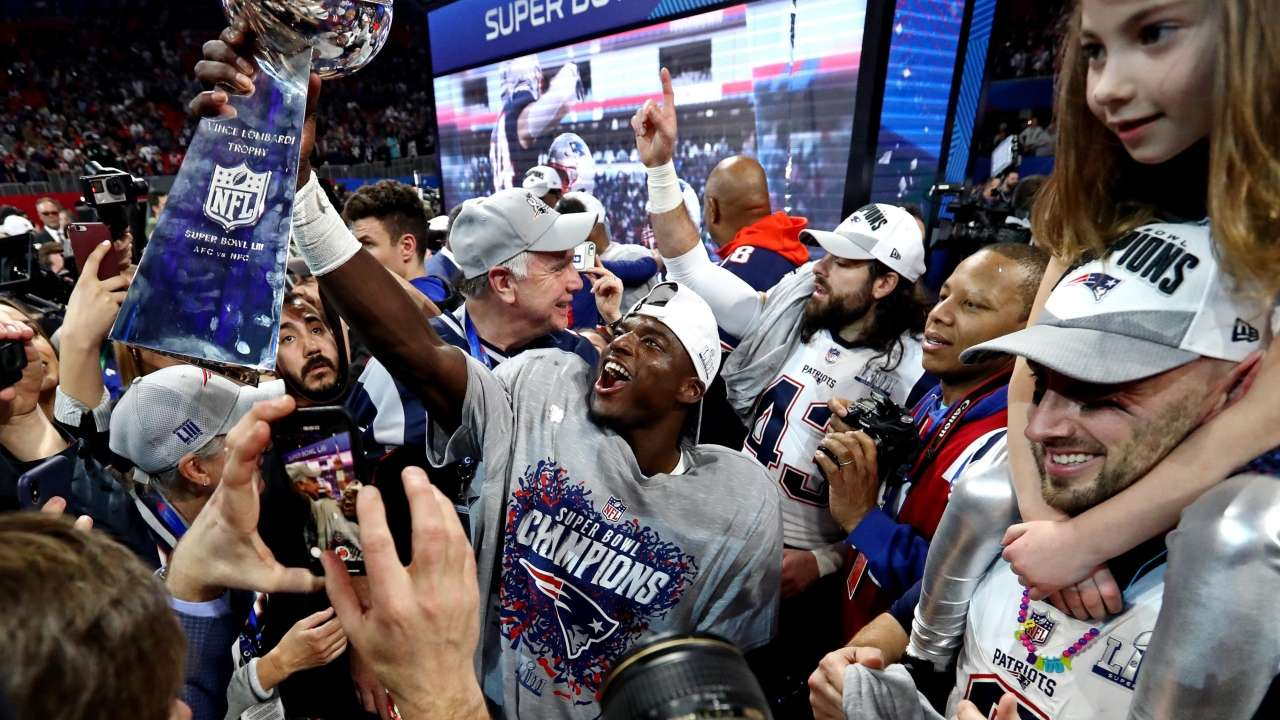 80d38485cfc Super Bowl 2019  Tom Brady s New England Patriots lift sixth title after  lowest-scoring game ever