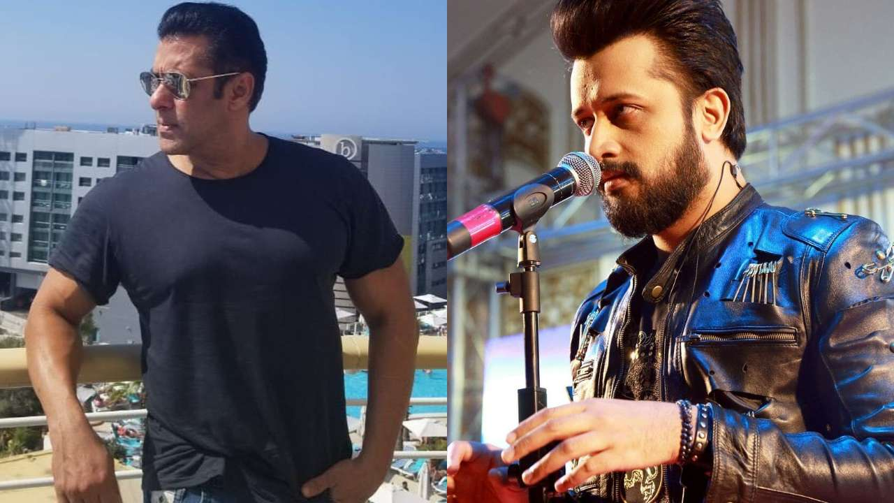 Image result for atif aslam out notebook salman khan