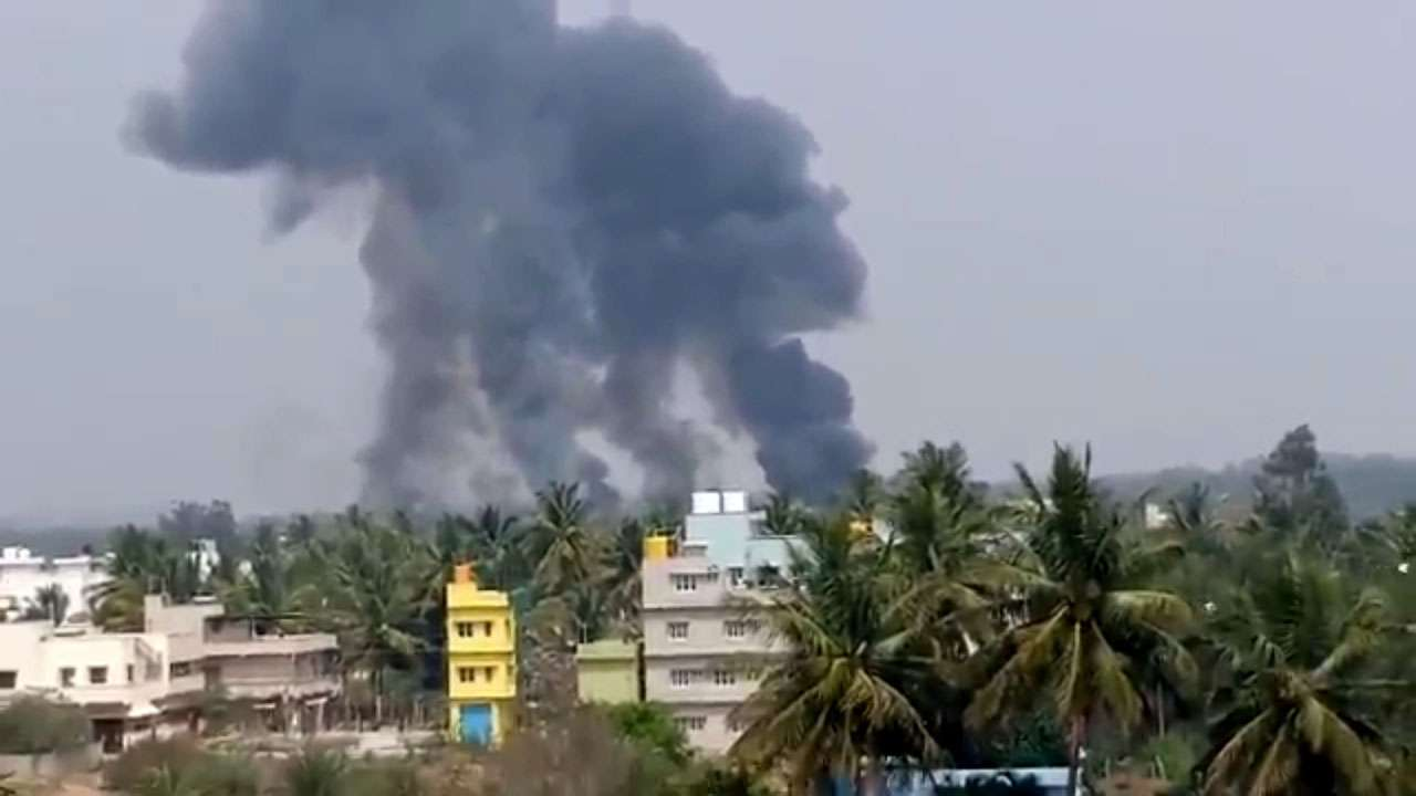Mid-air collision in Bengaluru: 2 IAF Surya Kiran aircraft