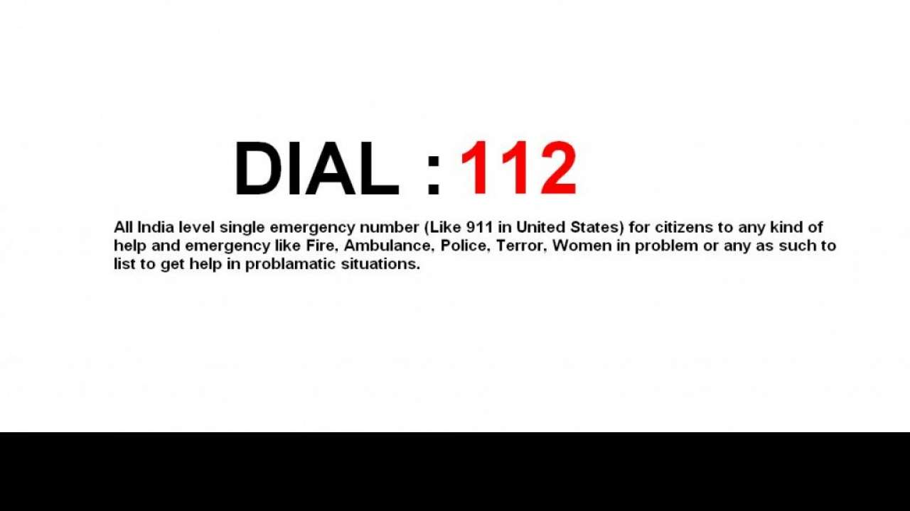 Home Ministry launches pan-India single emergency helpline number '112'
