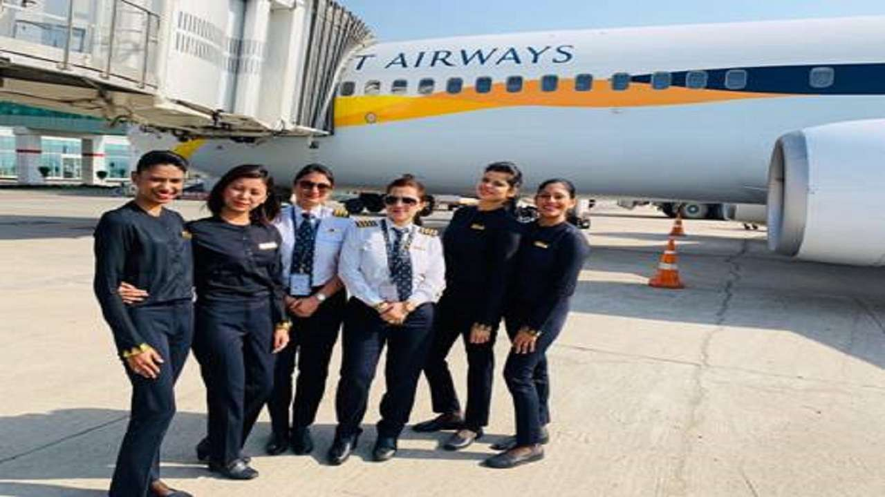 Jet Airways to operate all-women crew flights to mark