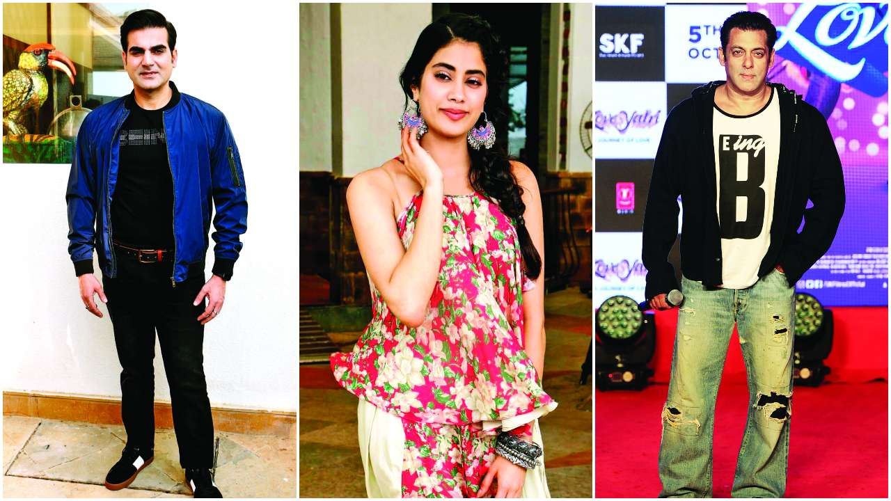 SCOOPS: Arbaaz Khan refused to call Salman Khan on his chat show, Janhvi Kapoor goes de-glam for her next