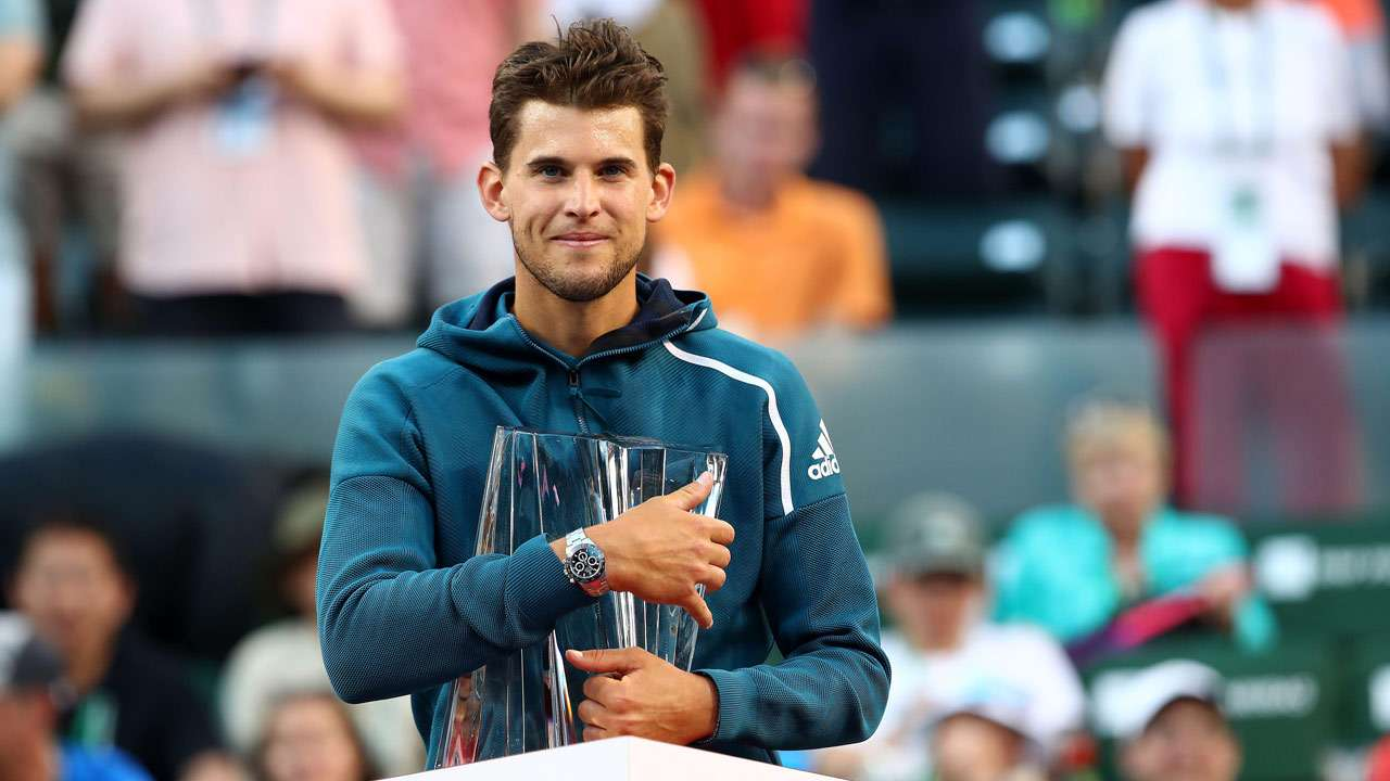 Dominic Thiem ends Roger Federer's bid for sixth Indian ...