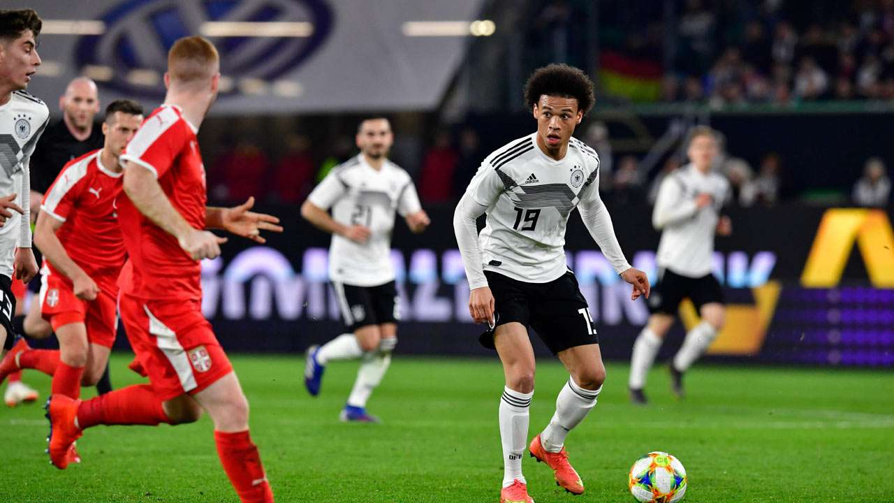 Joachim Loew's new-look Germany make promising start with Serbia draw