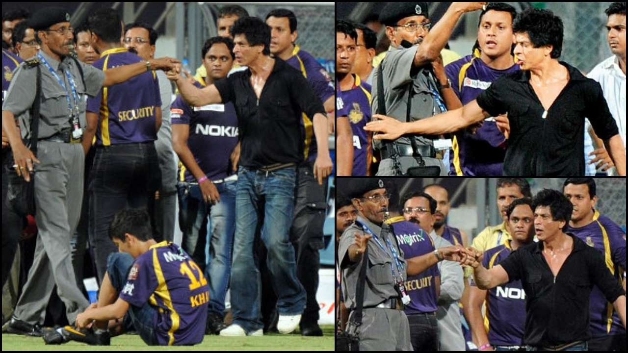Shah Rukh Khan banned from entering Wankhede Stadium