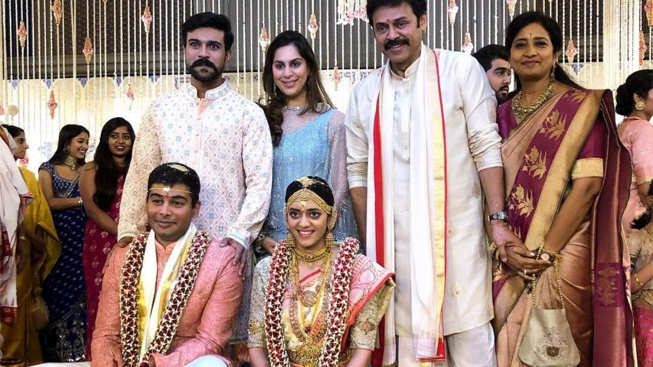 Image result for venkatesh daughter marriage
