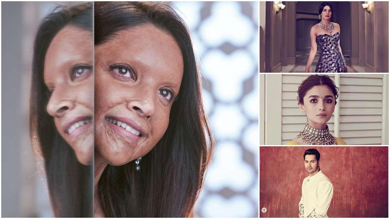 Deepika Padukone's first look in 'Chhapaak' gets applause from Priyanka Chopra, Alia Bhatt, Varun Dhawan