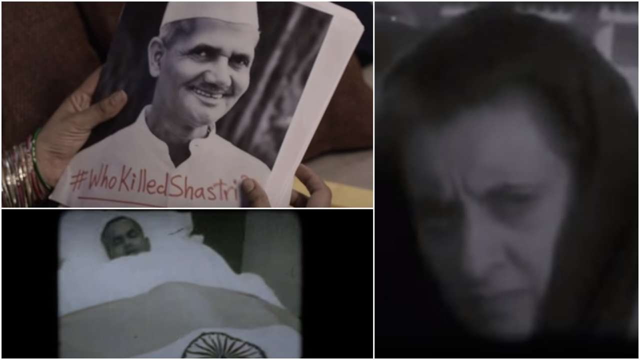 'The Tashkent Files' Trailer: Did Lal Bahadur Shastri die of a heart attack, or was he murdered? WATCH