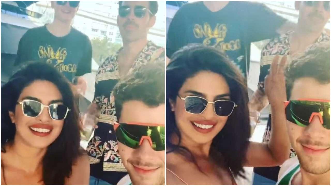 WATCH: Priyanka Chopra-Nick Jonas groove to Tareefan on their Miami vacay, check out Sonam Kapoor's reaction
