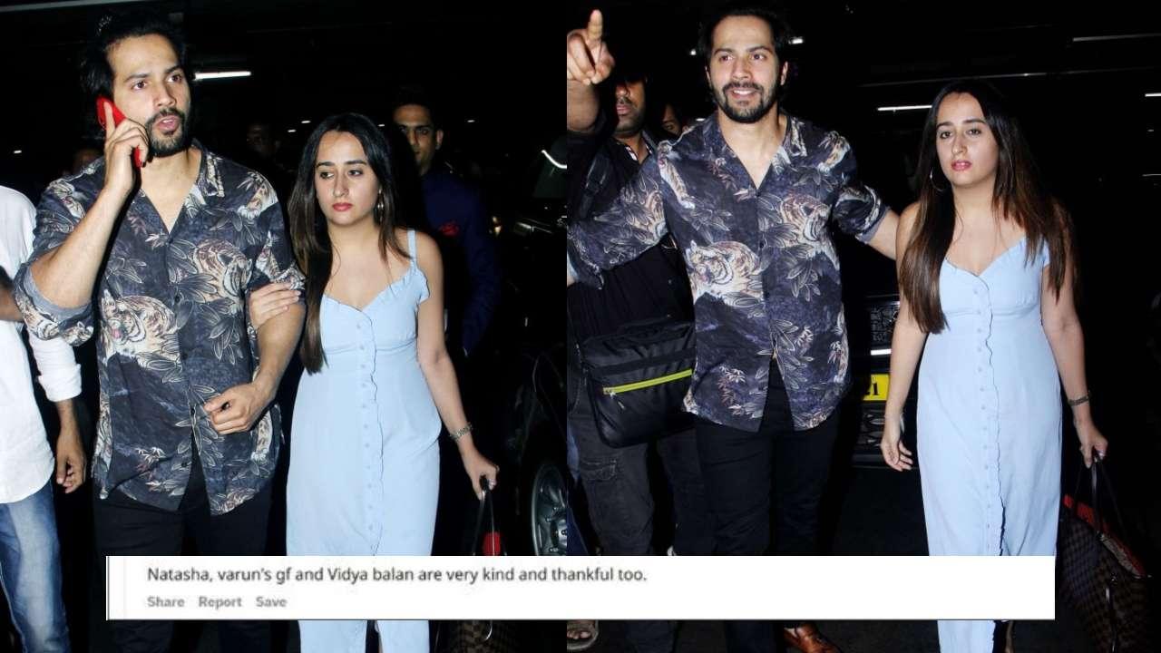 'Varun Dhawan's girlfriend Natasha Dalal is kind'