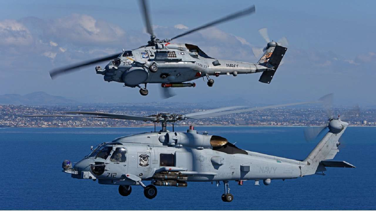 US approves sale of anti-submarine hunter helicopters to India for USD 2.4 bn