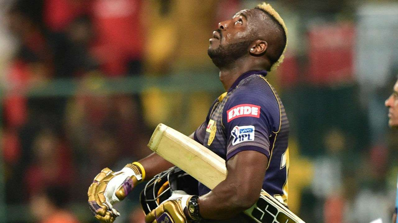 No ground is big enough for me': Andre Russell's humble brag after RCB vs  KKR match in IPL 2019