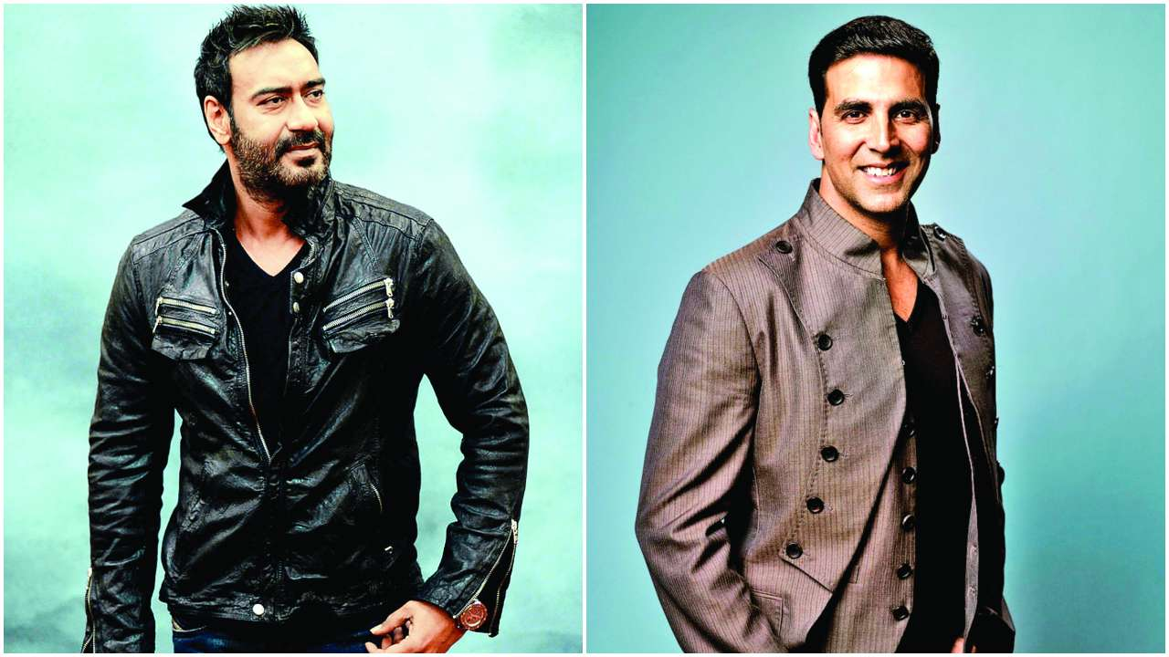 Bollywood Stars at HDIL Couture Week Photo Gallery  |Akshay Kumar And Ajay Devgan