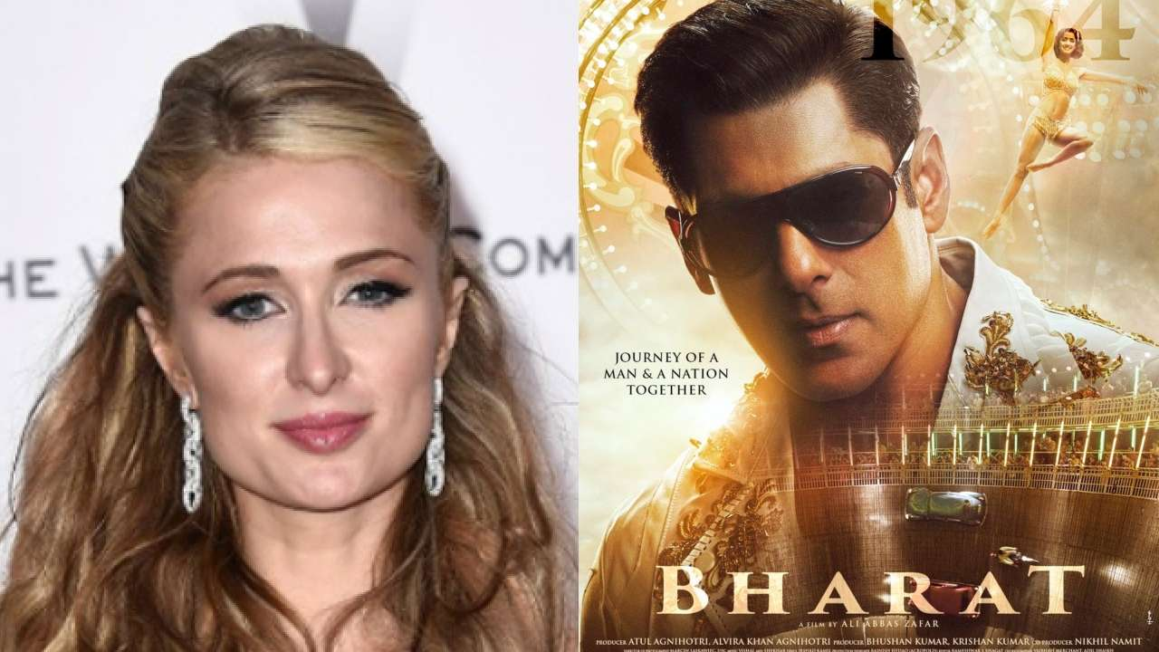Paris Hilton is impressed with Salman Khan's 'Bharat' new poster; here's proof
