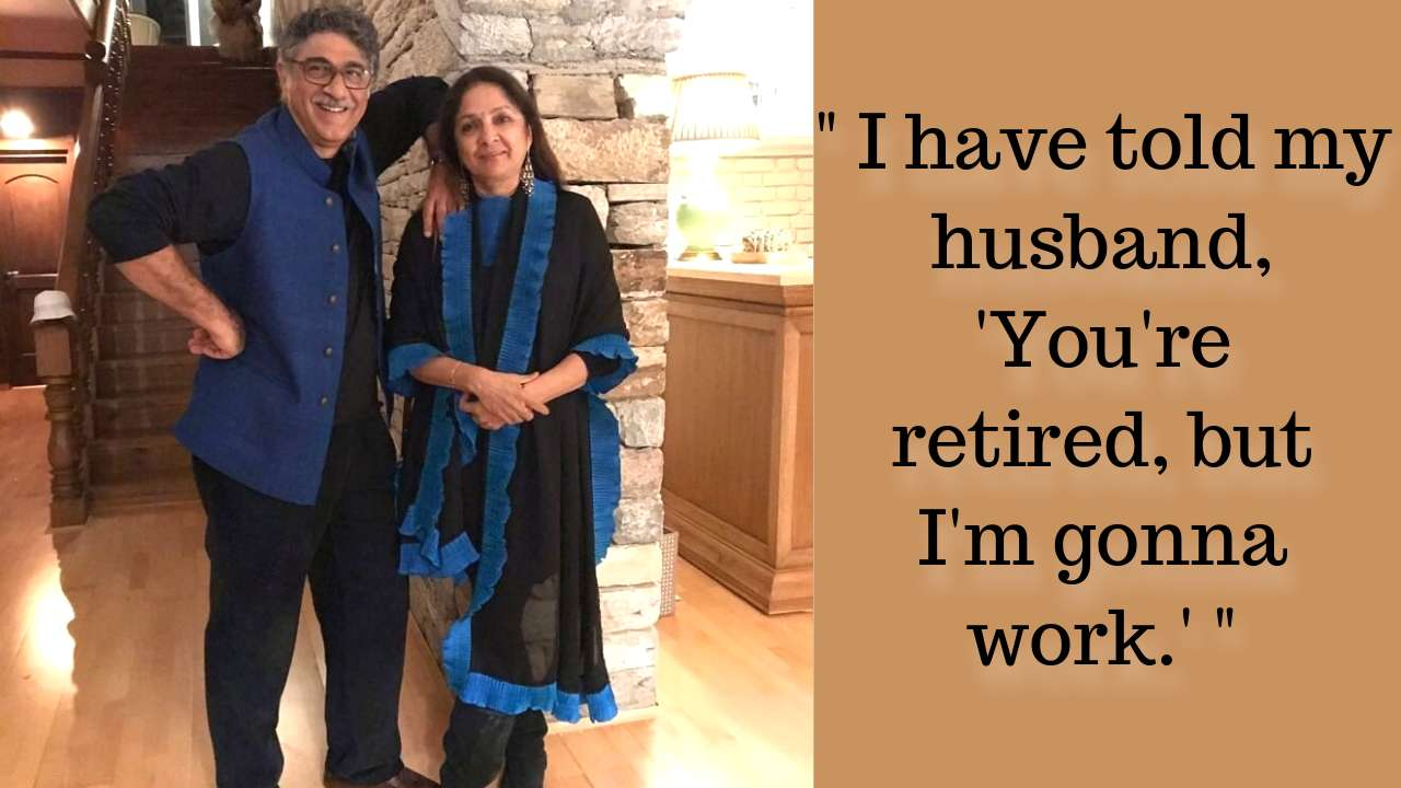 Neena Gupta is currently living in a long-distance relationship with her second husband, Vivek Mehra