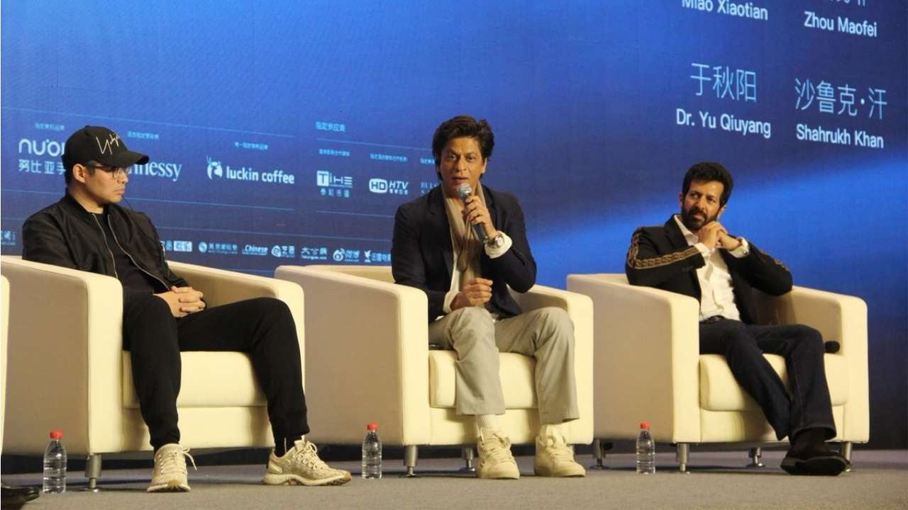 Shah Rukh Khan in Beijing: A film about Indian and Chinese superheroes will be really nice