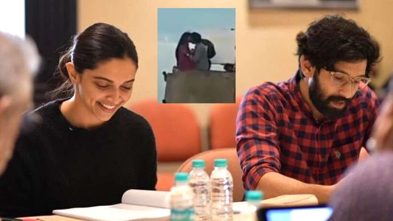 LEAKED: 'Bacche Ko Mat Dikha,' says onlooker as Deepika Padukone and Vikrant Massey lock lips on 'Chhapaak' sets