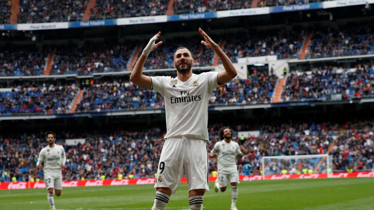 Image result for Benzema goal 2019