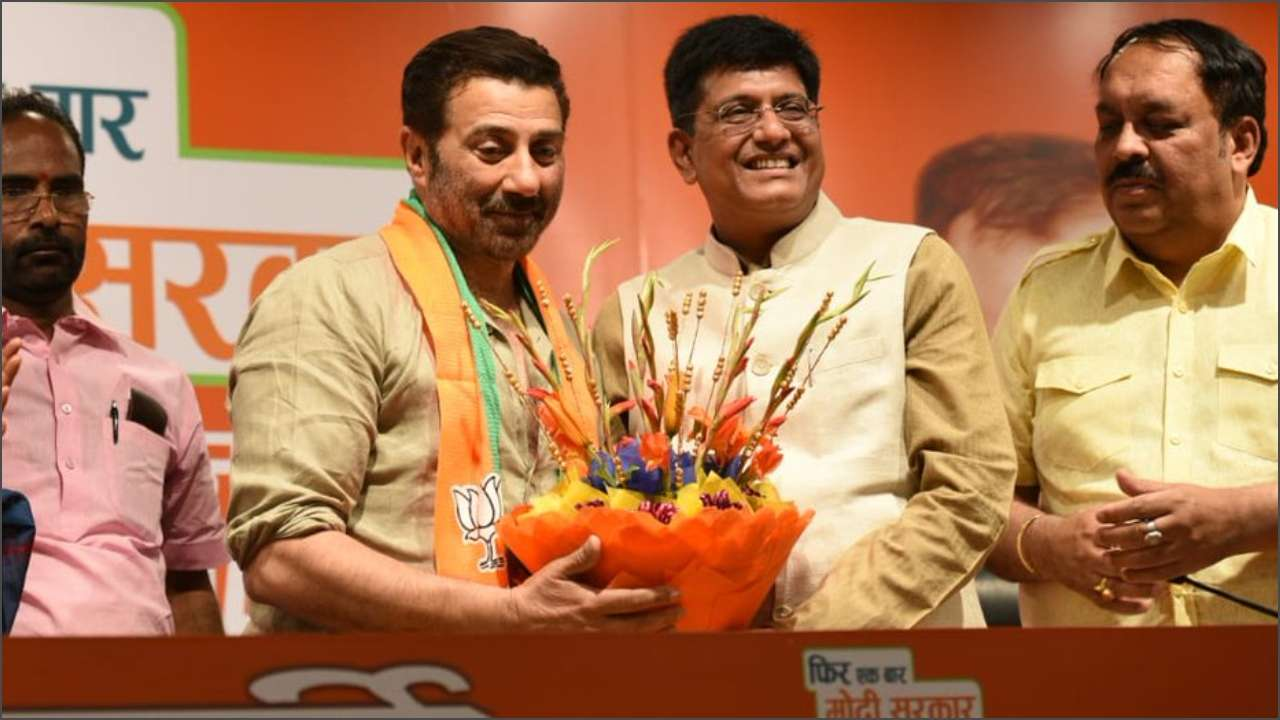 Sunny Deol joins BJP, likely to contest from Gurdaspur or Chandigarh in Lok Sabha elections
