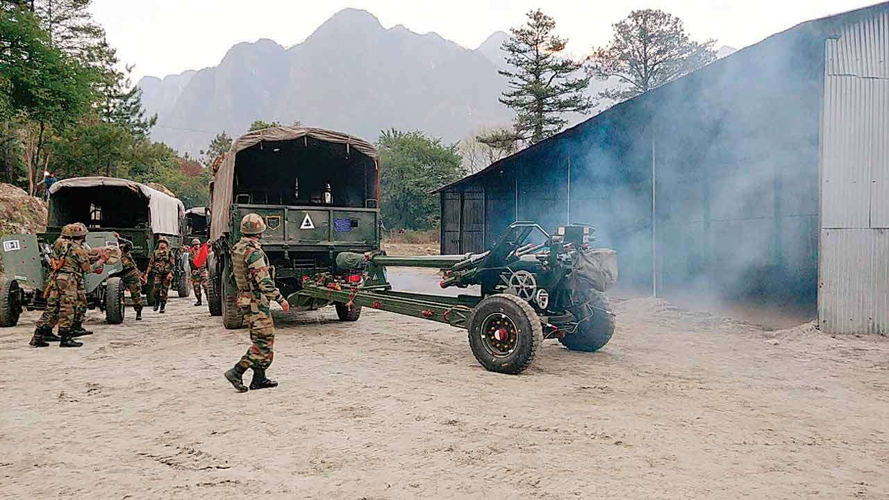 Army building new tunnels, caves to house firepower