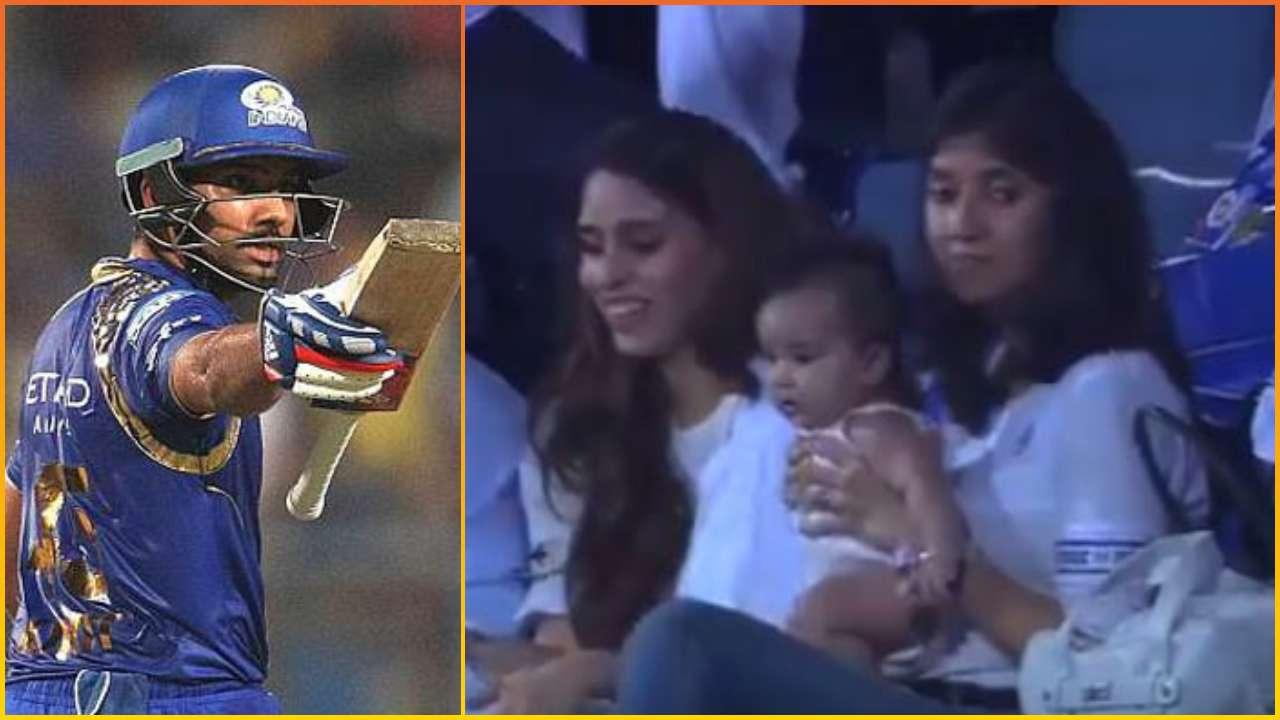 IPL 2019: Rohit Sharma's daughter Samaira and wife Ritika
