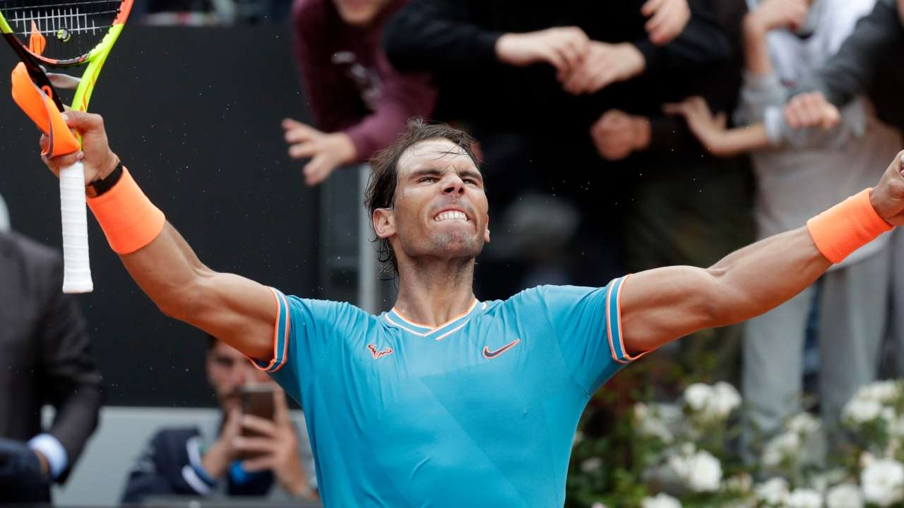 Italian Open Rafael Nadal Gets Revenge On Stefanos Tsitsipas To Advance To His First Final On Clay This Season