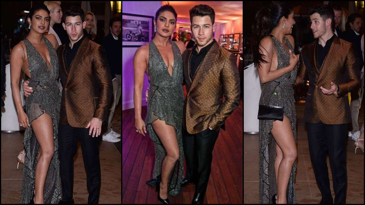 Cannes 2019: Priyanka Chopra leaves little to the imagination while stepping out with Nick Jonas for a private