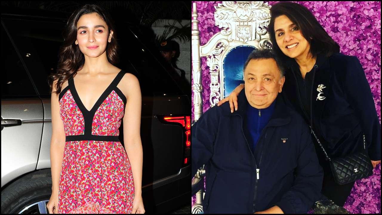 Alia Bhatt leaves a 'love' filled comment on Rishi Kapoor and Neetu Kapoor's latest photo