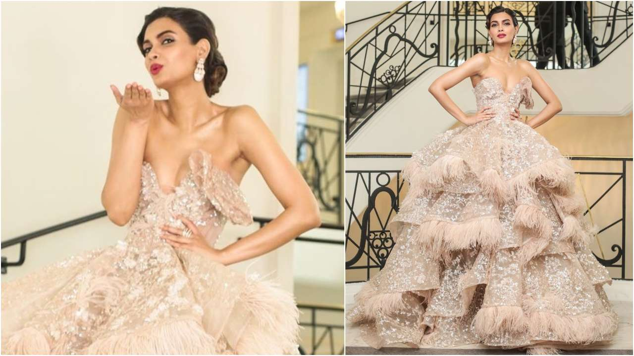 Diana Penty brings her fashion A-game to the Cannes 2019 red-carpet