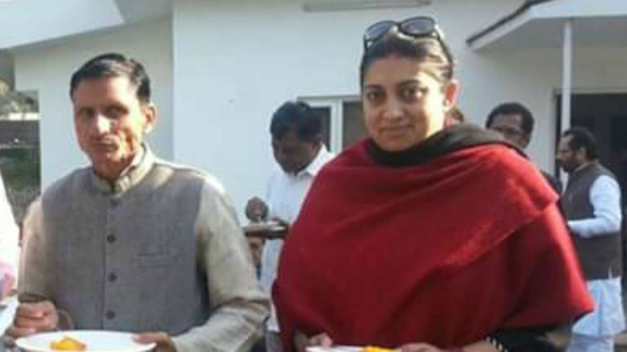 Image result for smriti aide killed in amethi