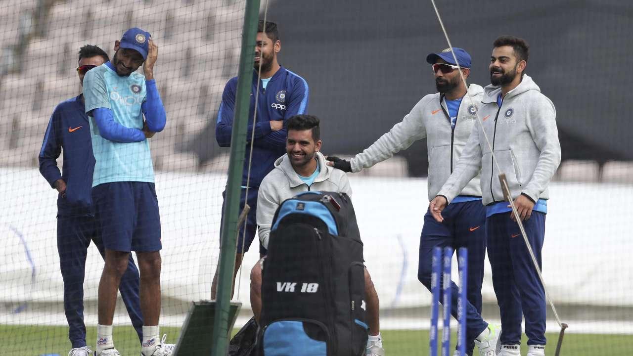 World Cup 2019 Team India Undergo Full Fledged Practice Session