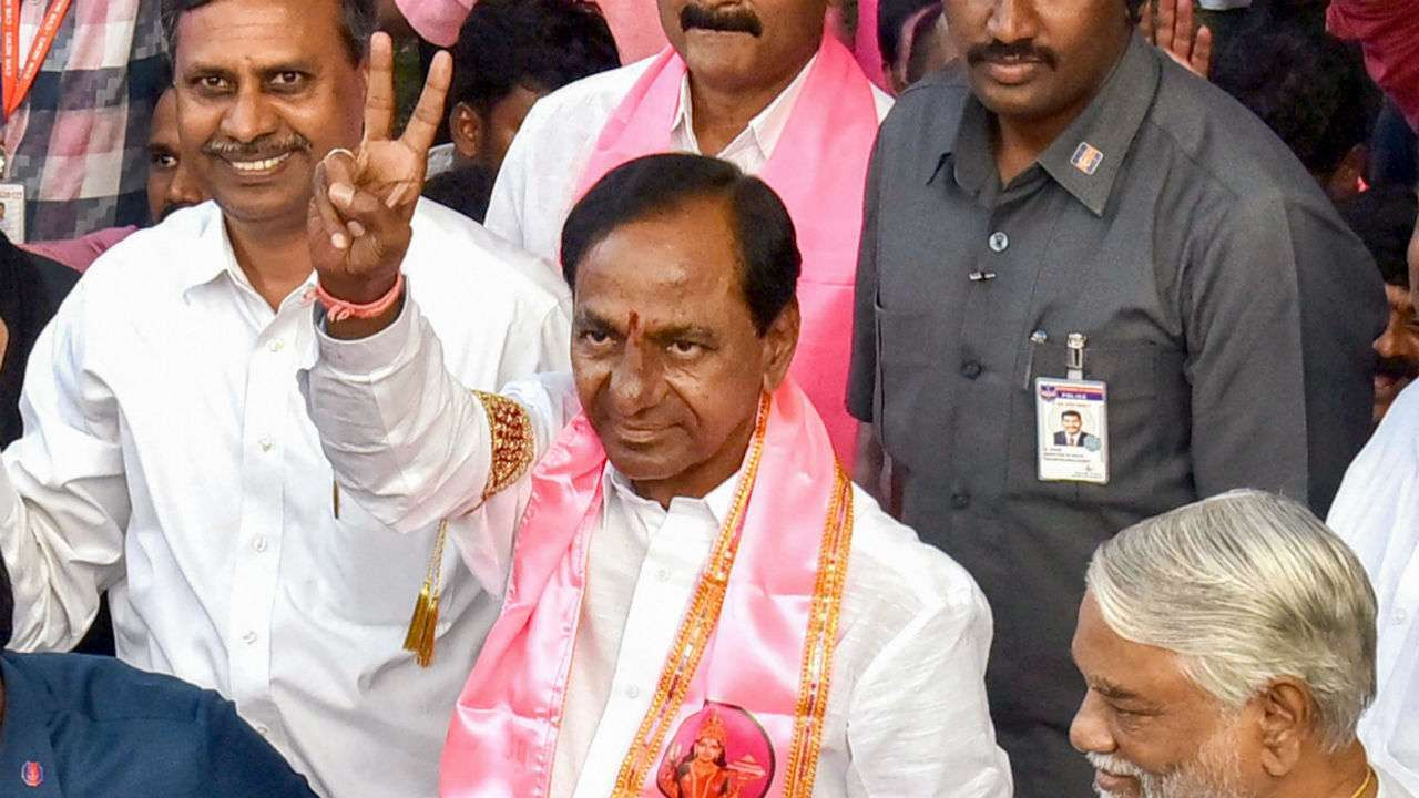 TRS defends 12 Congress MLAs joining its ranks in Telangana