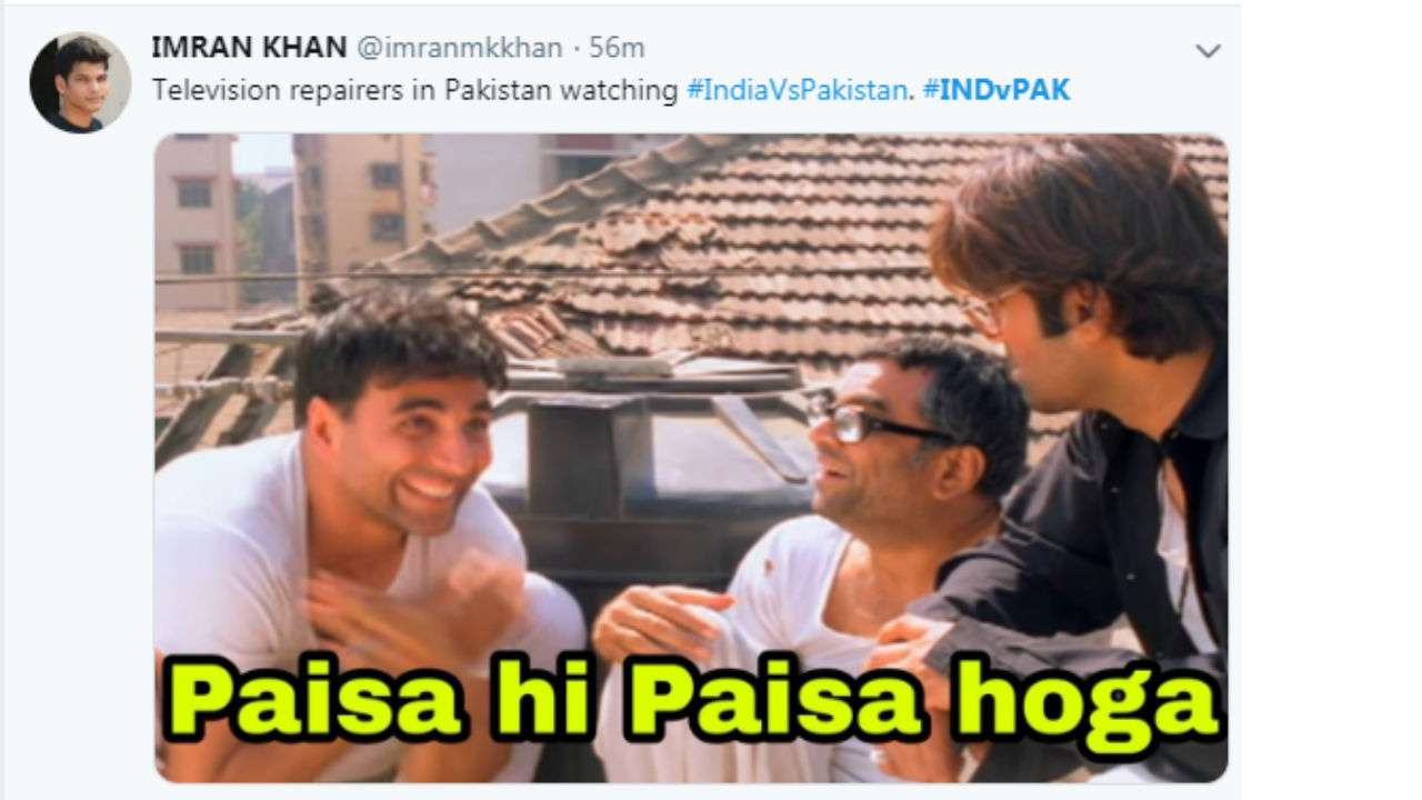 Tvs Not Safe In Pakistan Today These India Vs Pakistan Memes Are