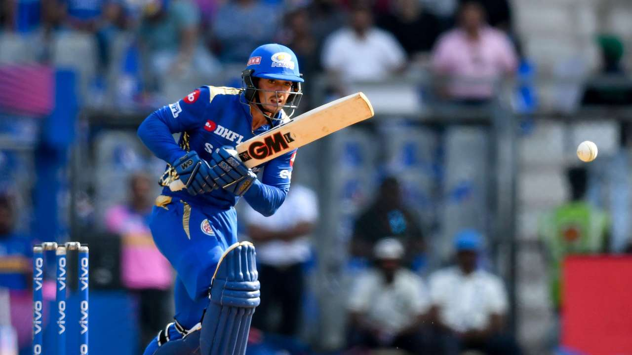 De Kock will keep the wickets for Mumbai Indians