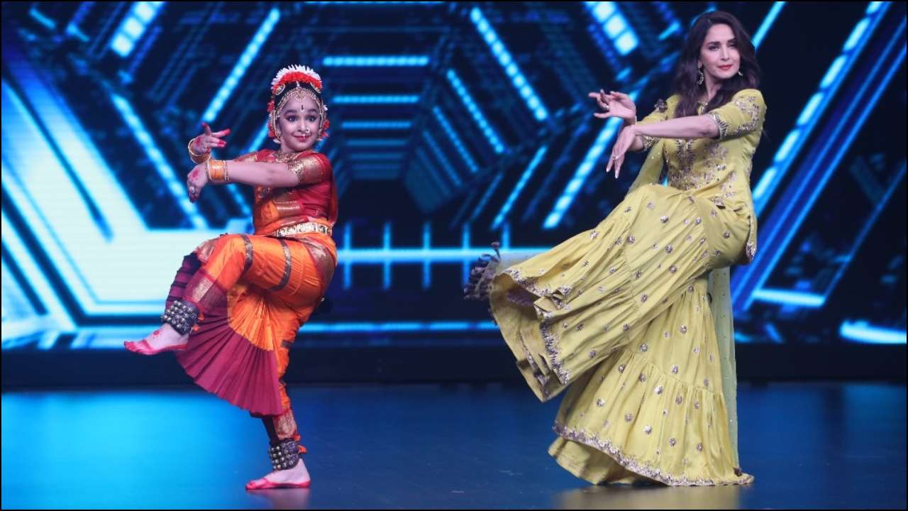 Madhuri Dixit reveals she began training in Kathak at the age of 3 and did her first stage show when she was 8-years-old