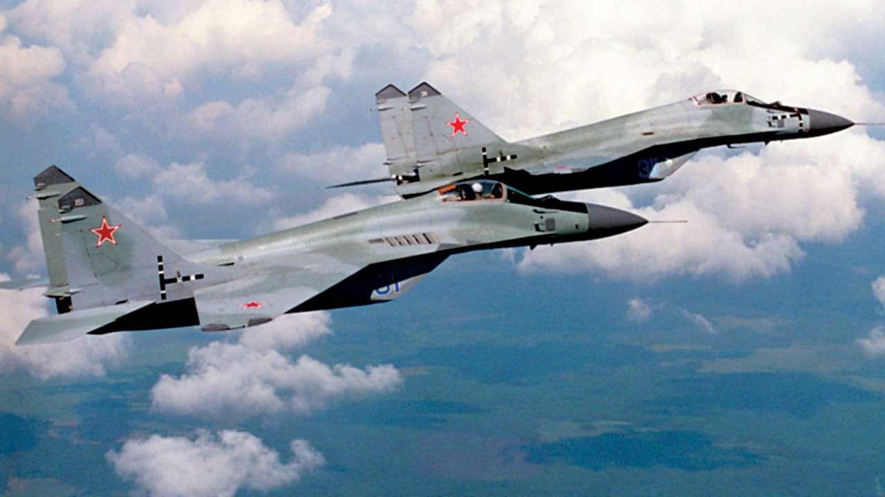 Slovakia scrambles MiG-29s as Italian passenger flies over