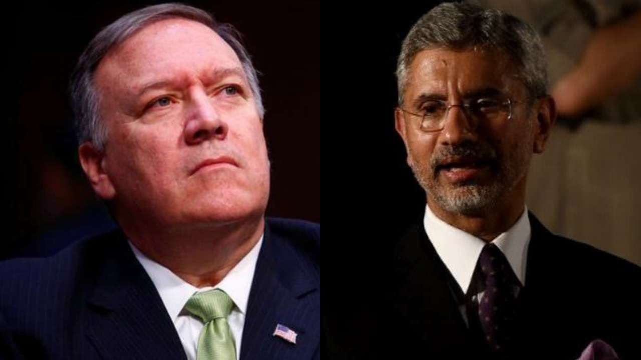 Terrorism, H1B visas, trade, Iran oil top agenda of Jaishankar-Pompeo meet
