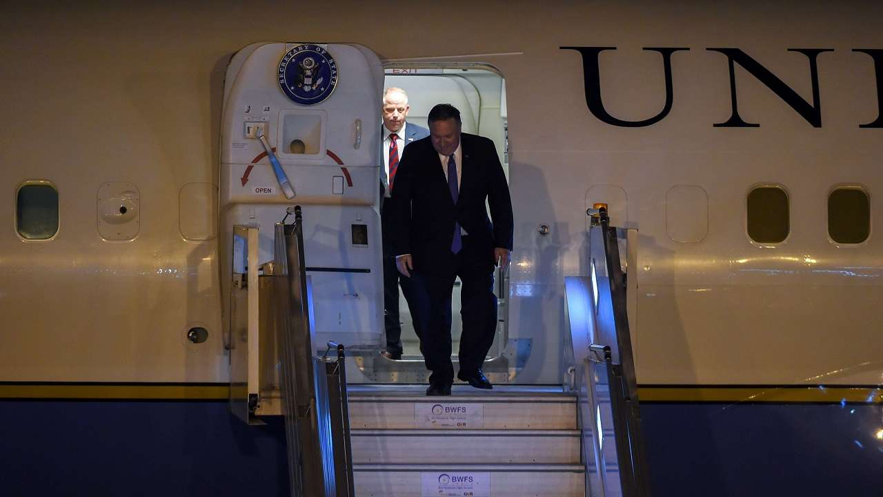 Mike Pompeo arrives in Delhi, to meet PM Modi, S Jaishankar on Wednesday