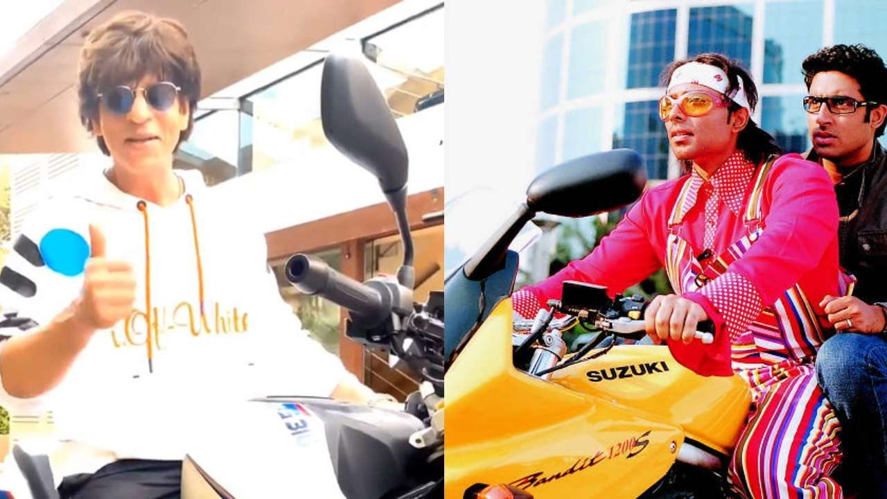 Shah Rukh Khan's Bike Appearance On Completing 27 Years In