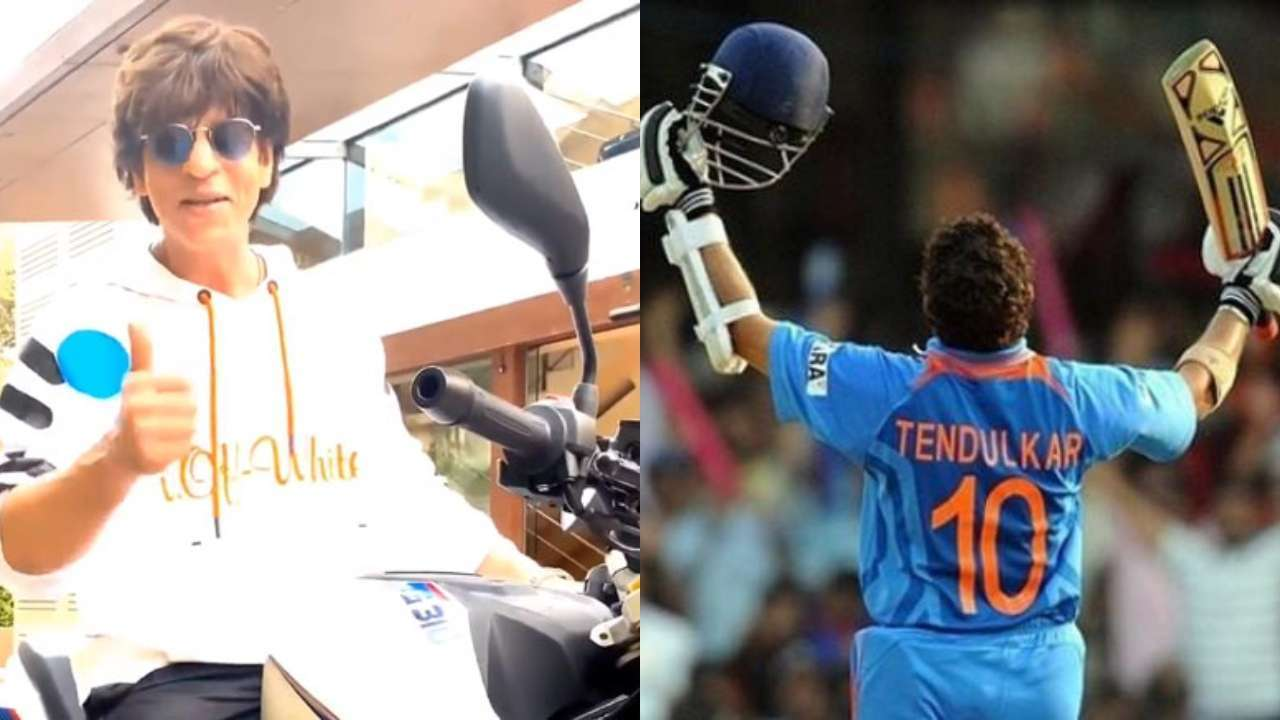 'Come over for fish curry': Shah Rukh Khan exchanges warm greetings with Sachin Tendulkar post 'driving' lessons