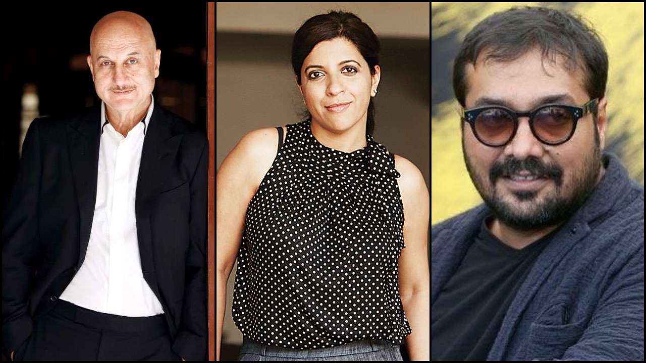 Anupam Kher, Anurag Kashyap and Zoya Akhtar are new members invited by Oscars Academy