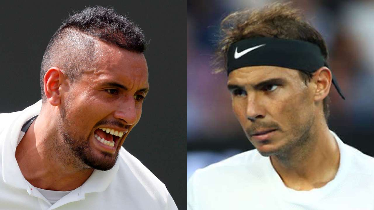 Image result for kyrgios nadal 2019