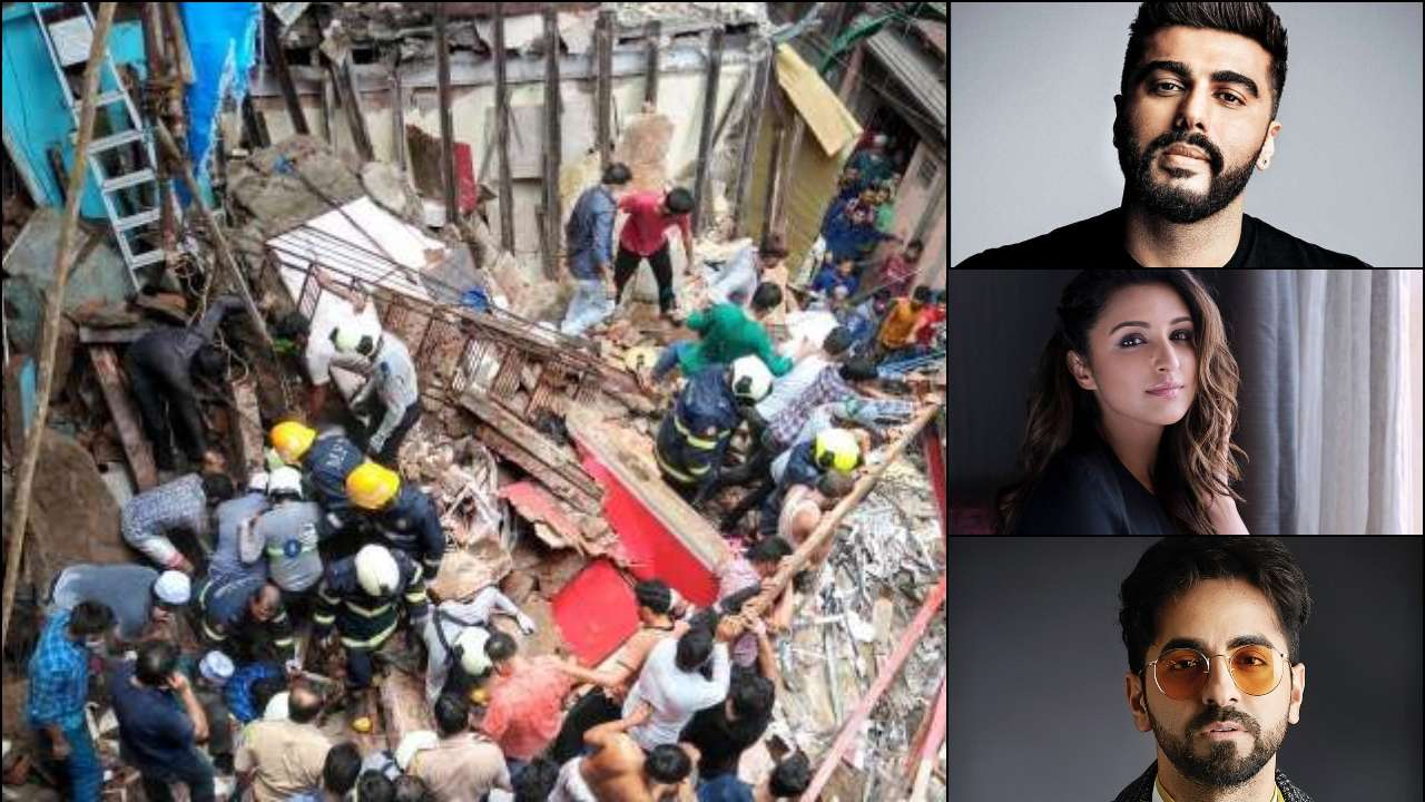 Mumbai Building Collapse: Arjun Kapoor, Parineeti Chopra, Ayushmann Khurrana offer condolences to families of the dead
