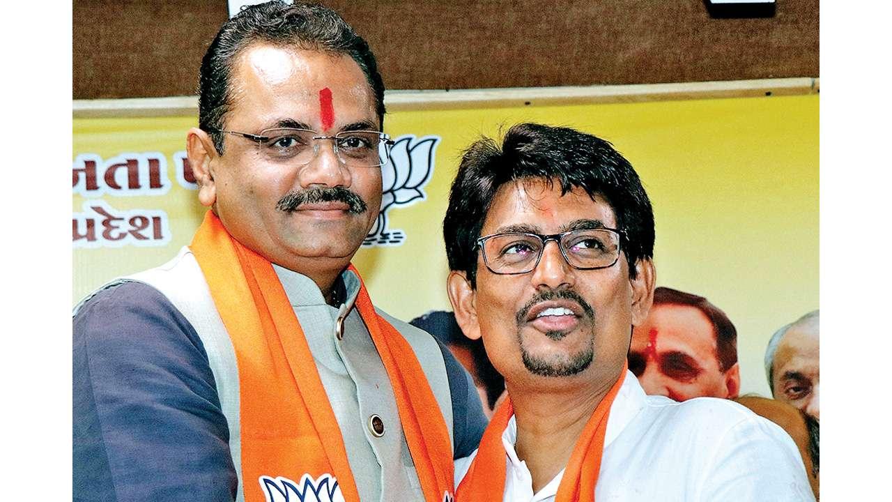 Gujarat: Alpesh Thakor, Dhavalsinh Zala joins BJP
