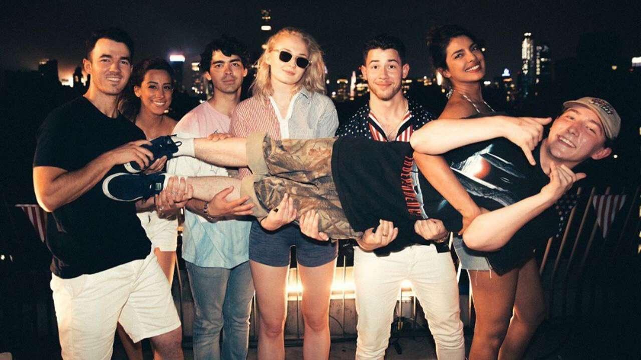 It S An Army Jonas Brothers On Presence Of Priyanka Chopra