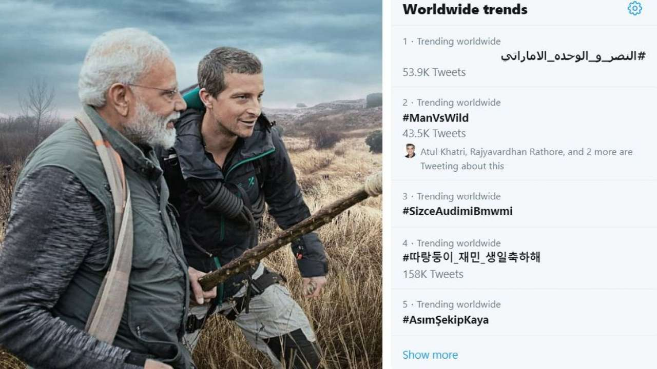 ManVsWild episode with PM Modi and Bear Grylls becomes top