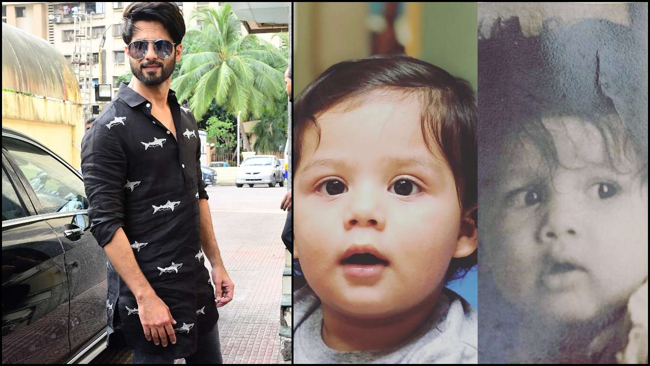 Like father, like son! Shahid Kapoor's childhood photo shows Zain Kapoor is a spitting image of his dad
