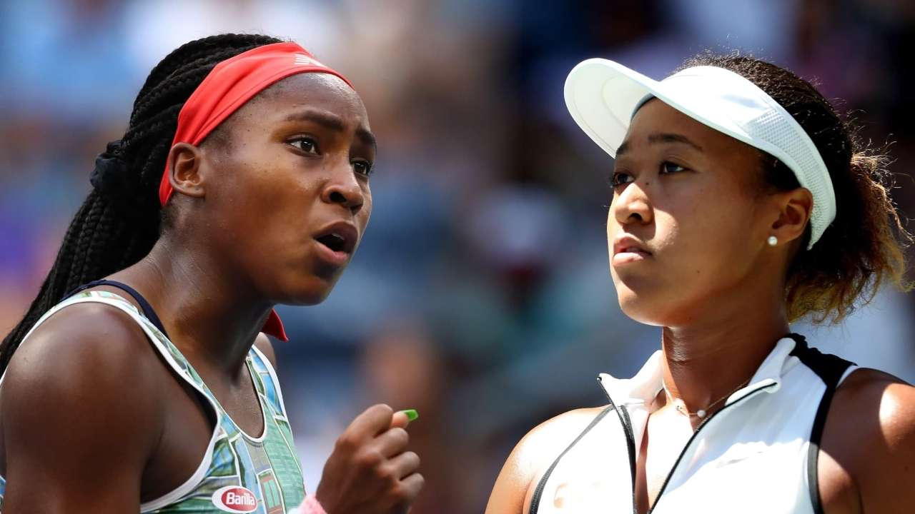 Image result for Coco Gauff sets up clash with defending US Open champion Naomi Osaka