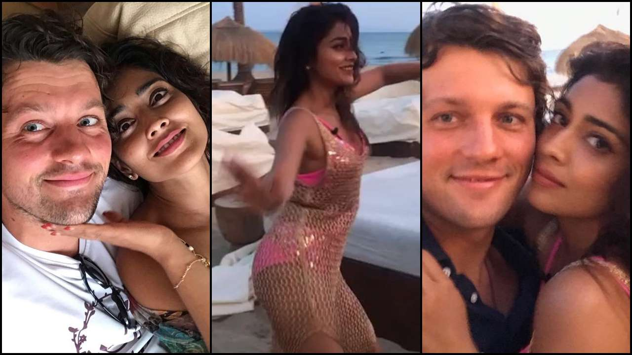 From dancing her heart out to cute selfies with husband Andrei Koscheev, Shriya  Saran's Ibiza holiday is so much fun